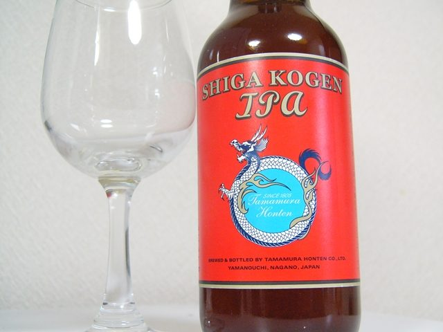 志賀高原ビール「SHIGA KOGEN IPA」