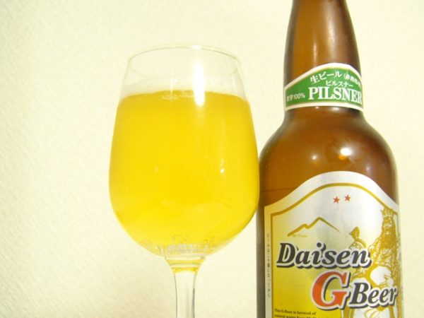 大山Gビール「ピルスナー」