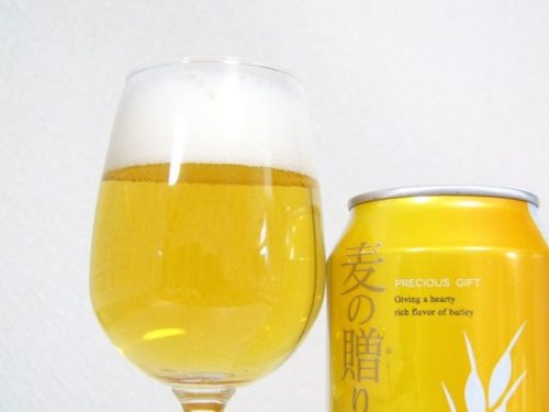 韓国ビール「麦の贈りもの」