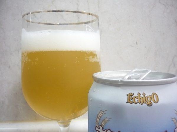 エチゴビール「ホワイトエールヴァイツェン」