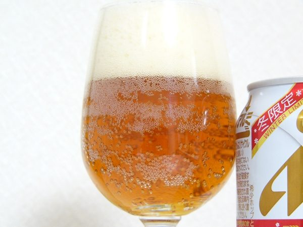 アサヒビール「冬限定CLEAR RED」