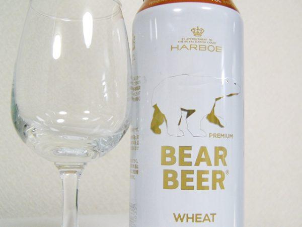 巨林フーズ&リカー HARBOE「BEAR BEER-WHEAT-」