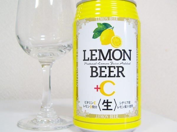 日本ビール株式会社「LEMON BEER+C」