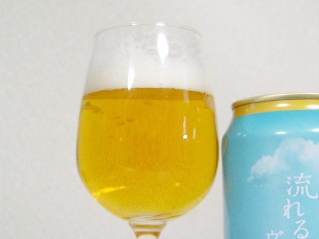 サッポロビール「空模様 流れる雲のヴァイツェン」