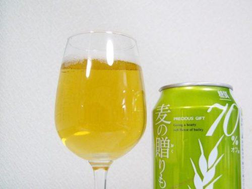 韓国ビール「麦の贈りもの70%オフ」